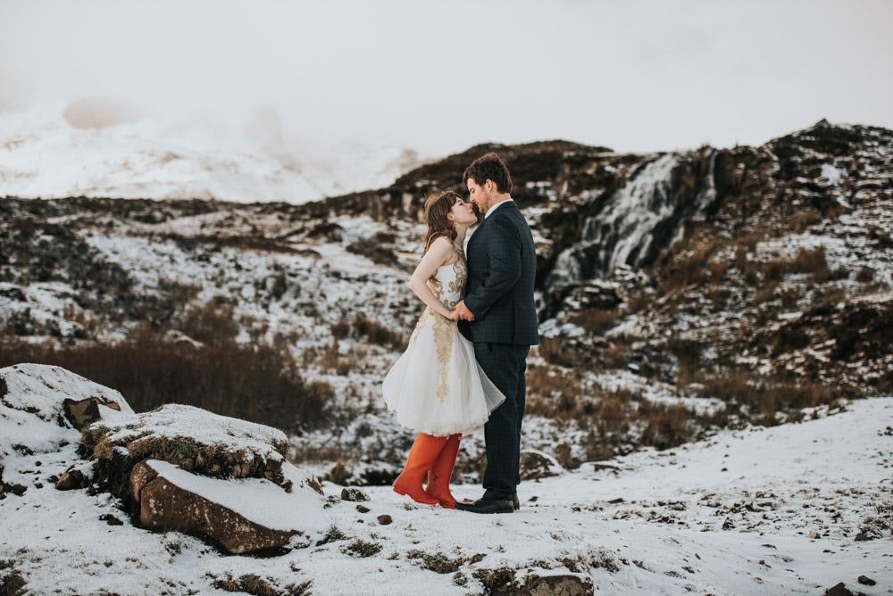After Wedding Shooting Isle of Skye