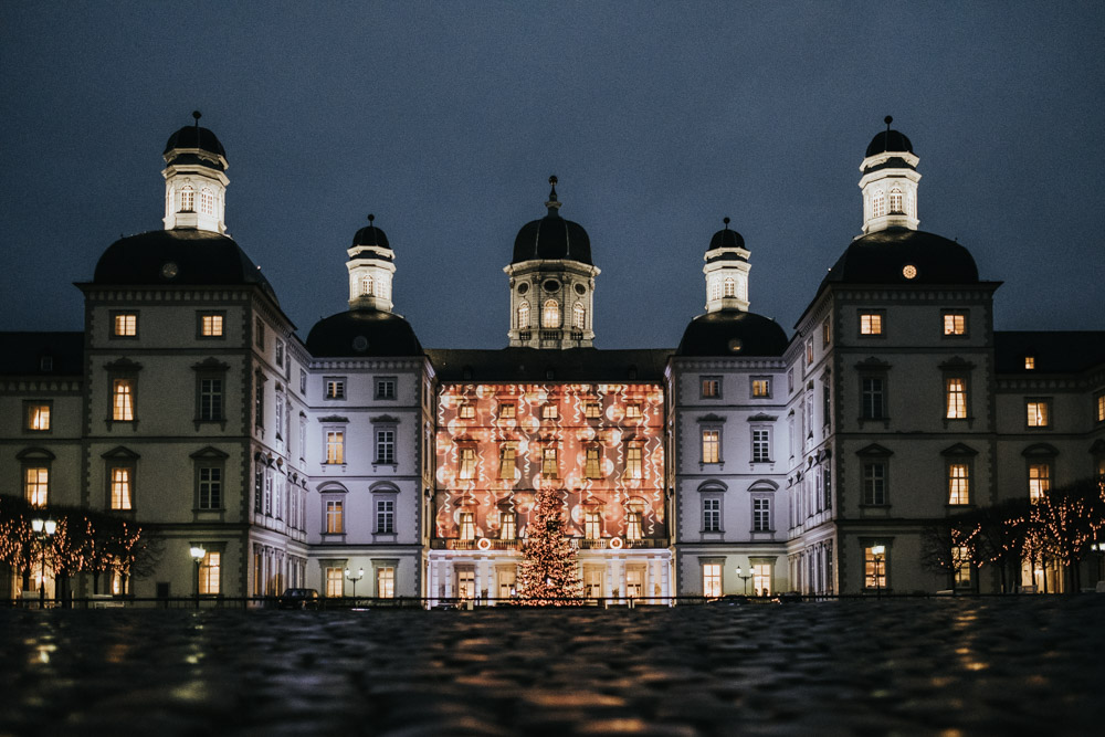 Intime Winterhochzeit Schloss Bensberg