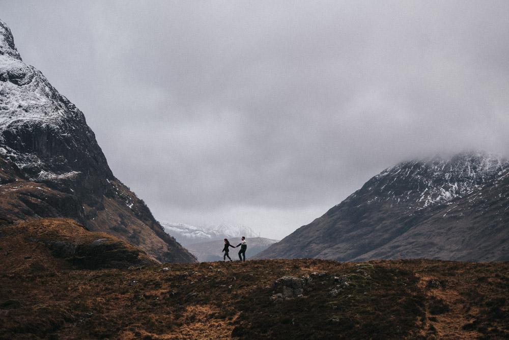 Roadtrip durch Schottland Glencoe