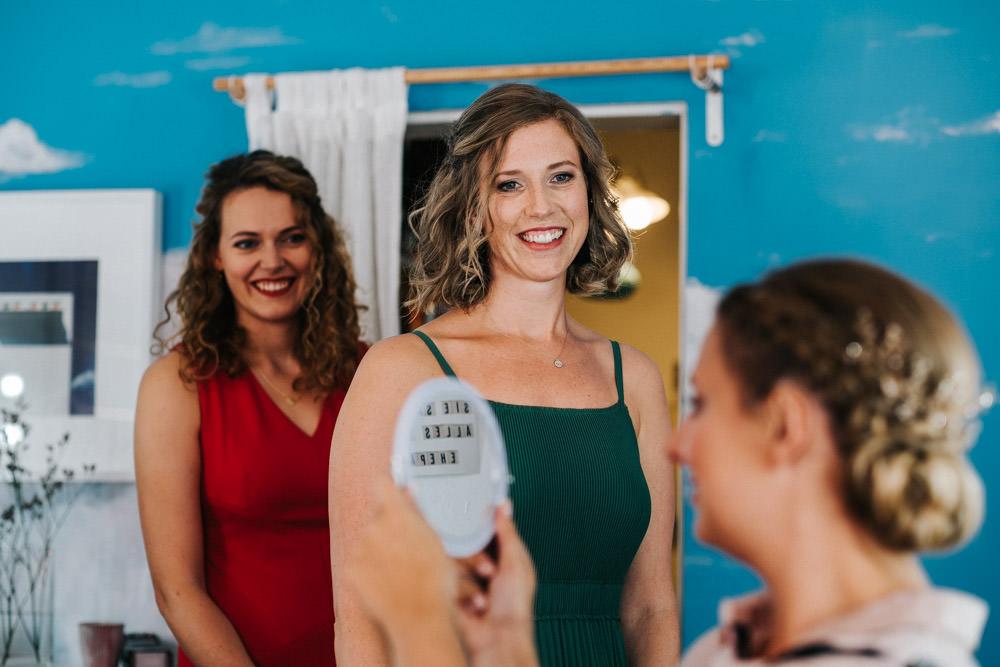Getting Ready Hochzeit Orangerie im Volksgarten