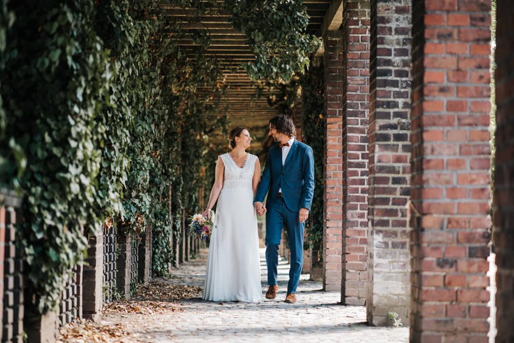 Paarshooting Hochzeit Orangerie im Volksgarten