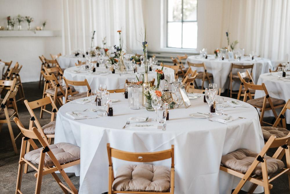 Hochzeit Orangerie im Volksgarten Deko Inspiration